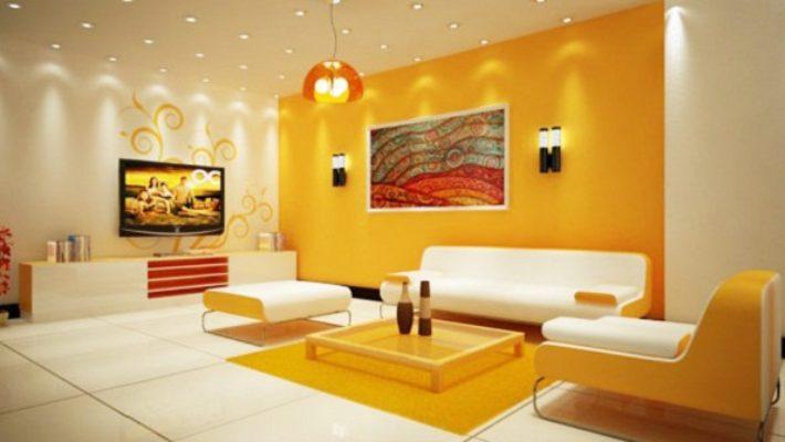 Màu sơn nhà cho người mệnh kim – Phát tài, phát lộc