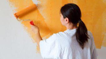 """Quy trình sơn tường nhà – """"Bất ngờ"""" với cách làm đơn giản"""
