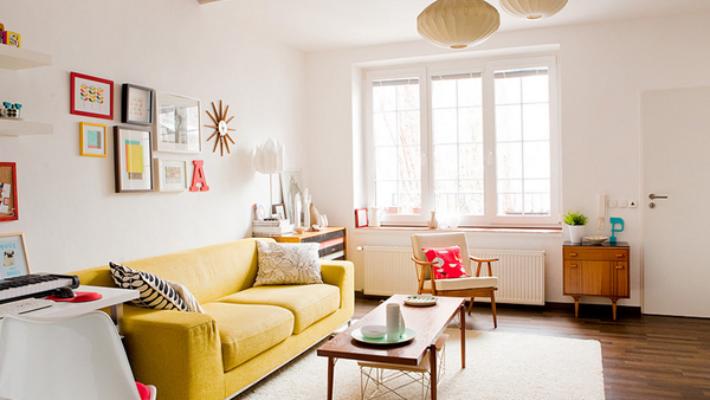 Cách phối màu sơn nội thất – 3 cách phối màu sơn đẹp ưng ý
