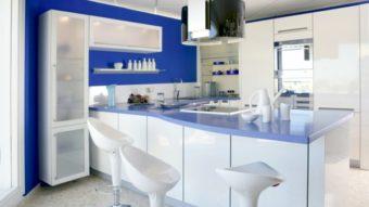 Sơn nhà bếp- Màu sơn hợp thời, đầy phong cách