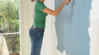 Quét sơn tường nhà – 2 lưu ý quét sơn nhà đúng kỹ thuật