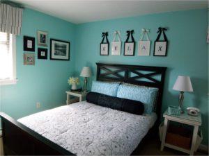 Kinh nghiệm chọn màu sơn phòng ngủ cho người mệnh thủy
