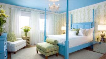 """Sơn nhà màu xanh dương – Màu sơn của sự """"bình yên"""""""