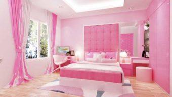 """Sơn phòng ngủ màu hồng – Mê mệt với vẻ đẹp """" dịu dàng"""""""