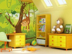 màu sơn phòng ngủ trẻ em1