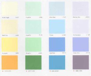 bảng màu sơn nhà1